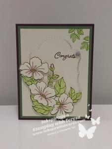 Congrats Flowers wm