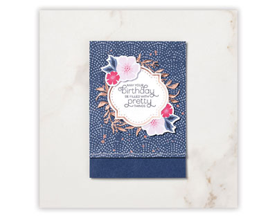 everything is rosy card