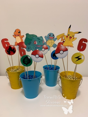 Pokemon buckets