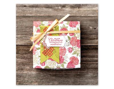 Christmastime gift box